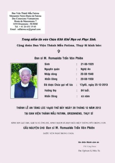 Cao Pho Fr Romuald.indd